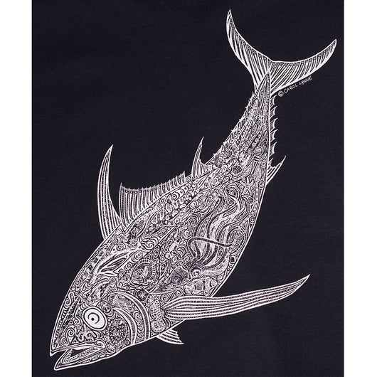 Mens Albacore Tee - Black back print
