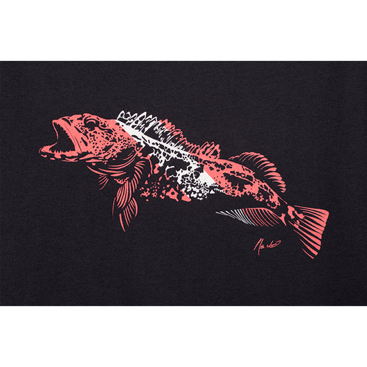 Mens Dive Flag  Lingcod Tee