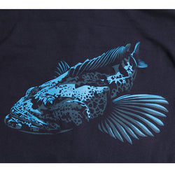 Heavyweight Nick Ingram Lingcod Hoodie- Front print