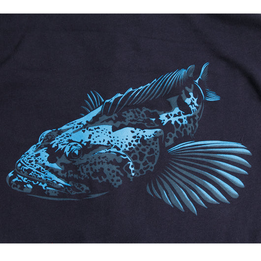 Heavyweight Lingcod Hoodie- Front print