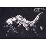 Mens Octopus Tee - Black