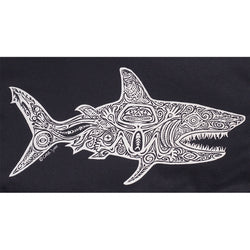 Sale Mens Shark Tee - Black