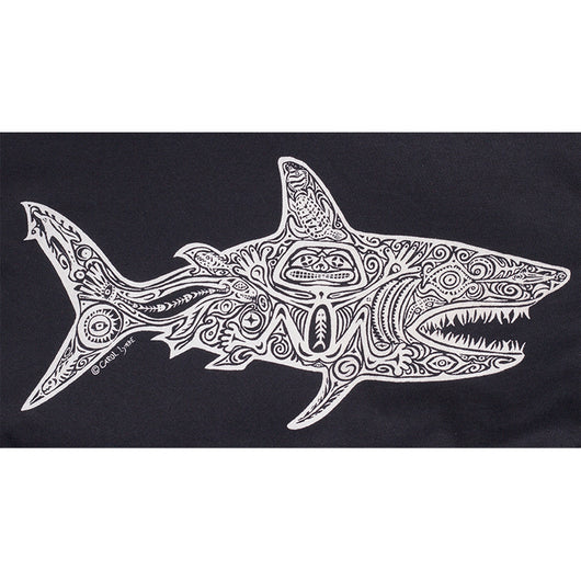Mens Shark Tee - Black