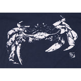 Ladies V Neck Crab - Midnight Navy
