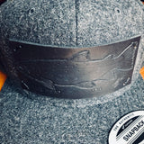 Reef Reaper Custom Leather Patch Hats
