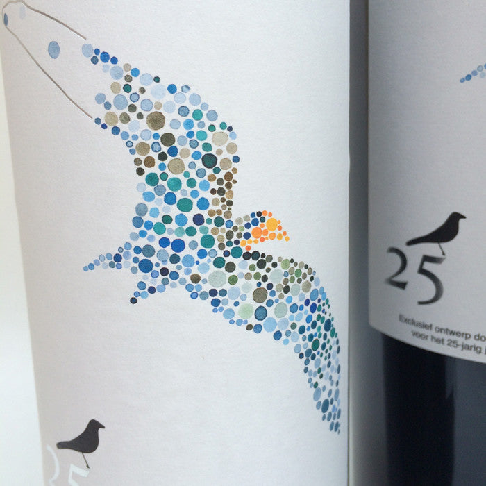 A special wine label for Crowne Plaza Brugge