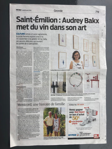 Audrey Bakx in the Press