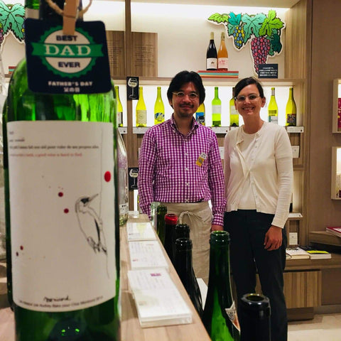 Father's day and Clos Monicord at Isetan in Tokyo