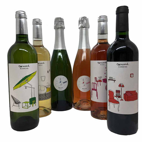 Monicord Colours Tasting Kit - 6 bottles