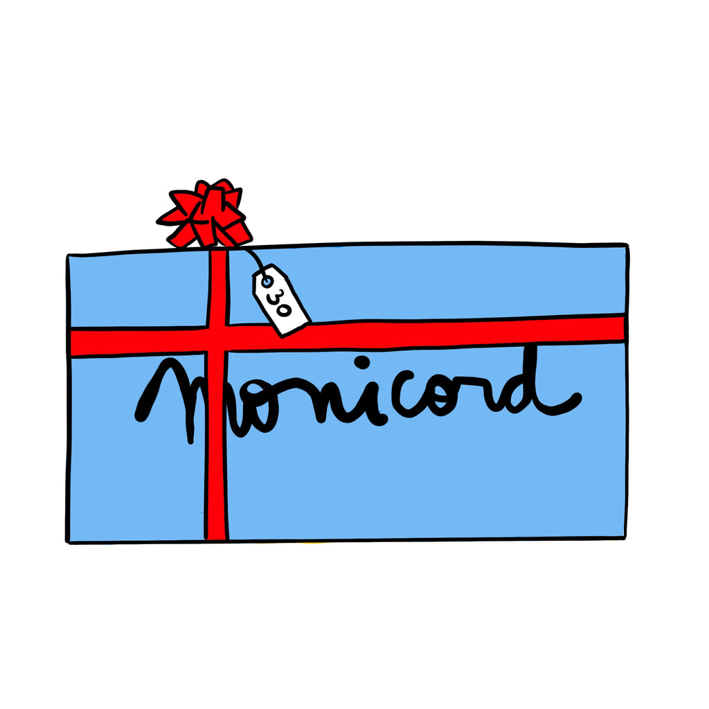€30 - Blue Monicord Gift Card