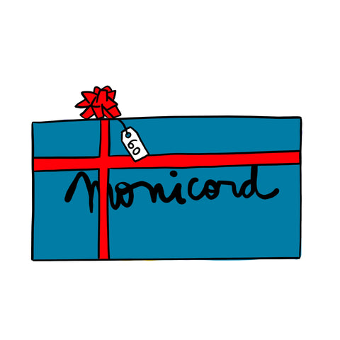 €60 - Peacock Monicord Gift Card