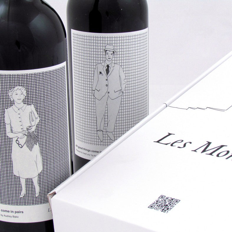 Les Monicord 2017, 2 bottles gift packaging