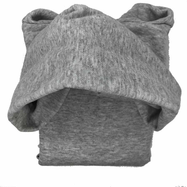 Bear Kids Hoodie Sweatshirt Light grey