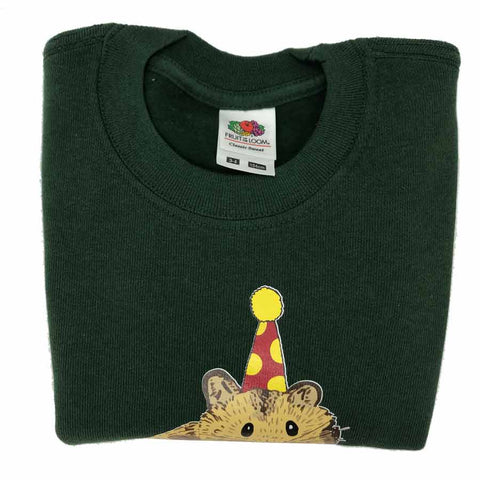 Hamster Kids Sweatshirt Green