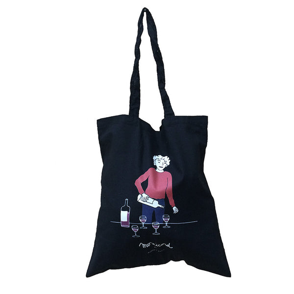 Madame Monicord black tote bag