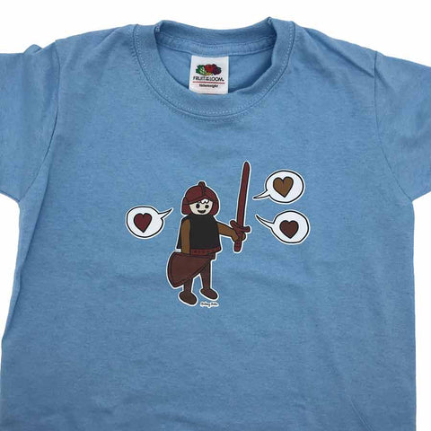 Playmobil Kids T-shirt Light blue