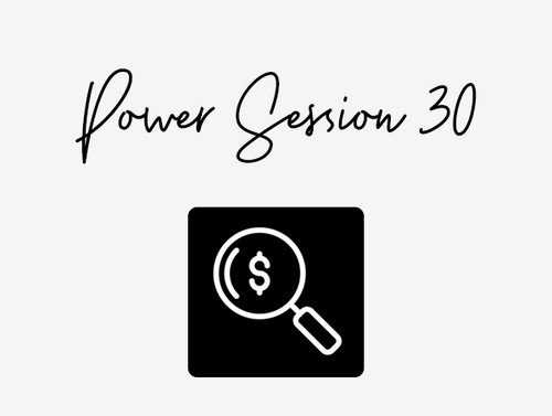 LET'S CHAT, POWER 30MIN SESSION + BONUS STORE AUDIT