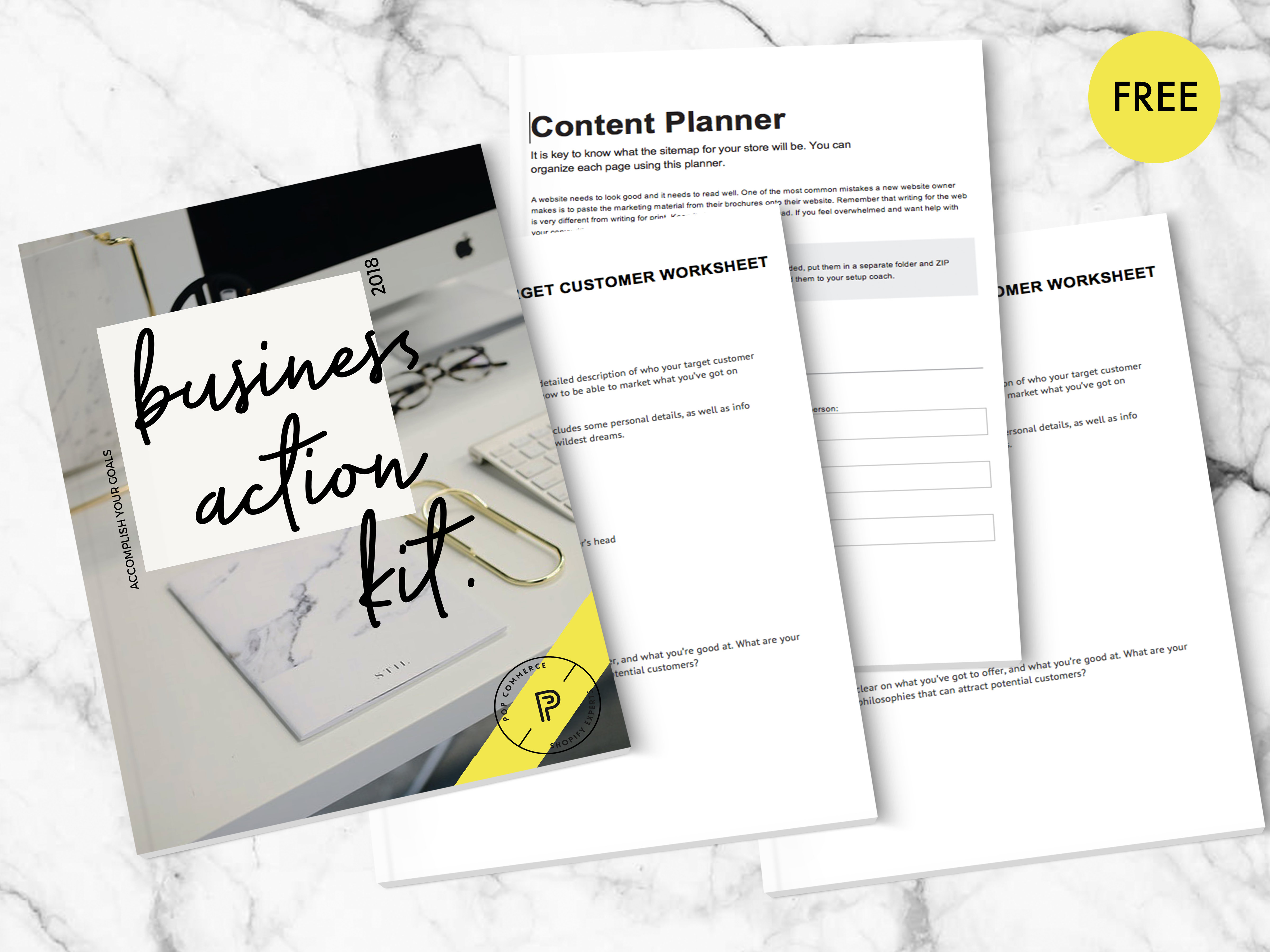 Stay on top of it with our free Ecommerce Business Action Planner.