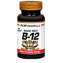 Windmill B 12 1000Mcg Quick Melt 100 Tablets Each