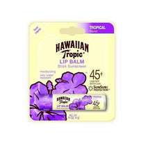 Hawaiian Tropic Moisturizing Lip Balm Sunscreen, SPF 45 .14  Ounce