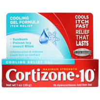 Cortizone 10 Cooling Relief Anti Itch Gel 1 Ounce Each