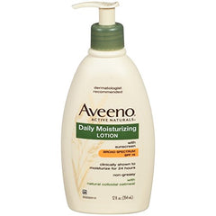 Aveeno Active Naturals Daily Moisturizing Lotion SPF15 12.0  Ounce