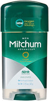 Mitchum Advanced Gel Anti-Perspirant Deodorant Unscented 2.25 Ounce