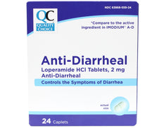 Quality Choice  Anti-Diarrheal Lopermaide HCI 24 Caplets