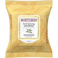 Burt's Bees  Pre-Moistened Facial Cleansing Towelettes White Tea Extract, Cucumber and Aloe 30 count