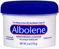 Albolene Cleansing Concentrate Moisturizing Cleanser Cream Unscented 6 Ounce