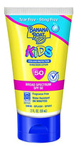 Banana Boat Kids Sunscreen Lotion SPF 50 Tear Free Sting Free 2Ounce Each
