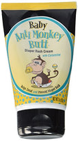 Baby Anti Monkey Butt Diaper Rash Cream w Calamine 3  Ounce