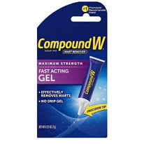 Compound W Maximum Strength Wart Remover Fast Acting Gel 0.25  Ounce
