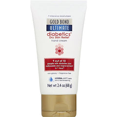 Gold Bond Ultimate Diabetics's Dry Skin Relief Hand Cream 2.4  Ounce