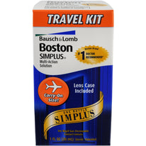 Bausch - Lomb Boston Simplus Multi-ACountion Solution Travel Kit 1 Each