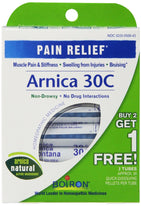 Arnica 30C Great Value 3 Tubes Pack Boiron