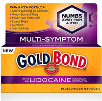 Gold Bond Pain & Itch Formula Cream with Lidocaine 1.75  Ounce