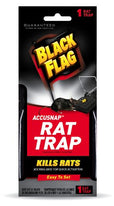 Black Flag Accusnap Rat Trap Easy to Set 1 Rat Trap