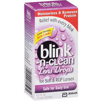 Blink Lens Drops for Soft & RGP Lenses 0.5 Fluid Ounces