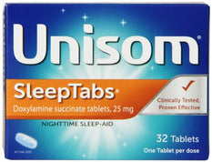 Unisom SleepTabs 32 Tablets Each
