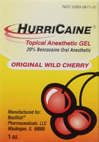 Hirrucaine Topical Oral Anesthetic Gel 1 Ounce