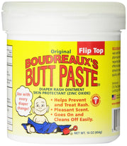 Boudreaux's Butt Paste, Orignal Diaper Rash Ointment Jar 16 Ounce (454 g)