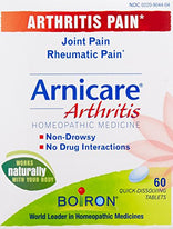 Boiron Arnicare Arthritis Rheumatic Pain Relief Homeopathic 60 Tablets