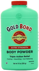Gold Bond Body Powder Medicated Extra Strength 10 Ounce Each