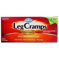 Hyland's Leg Cramps Ointment To Relax Calf and Foot Cramps Fast Acting 2.5 Ounce
