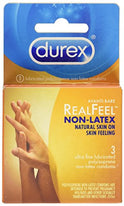 Durex Avanti Bare Real Feel Non-Latex 3 Condoms