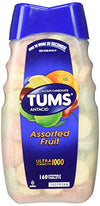 Tums Antacid Calcium Ultra Strength 1000 Assorted Fruit Supplement 72 Tab