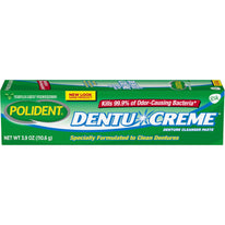 Polident Dentu-Creme Denture Toothpaste, 3.9  Ounce Each