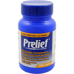 Prelief Dietary Supplement for Bladder Symptoms 300 Tablets