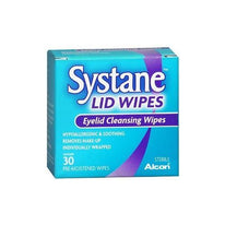 Systane Lid Wipes Eyelid Cleansing Wipes 30 Count Each